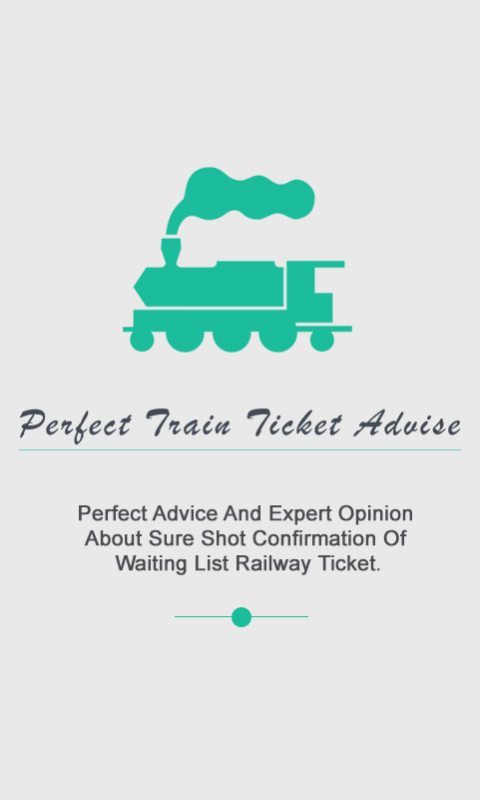 Perfect Train Ticket Advice- screenshot