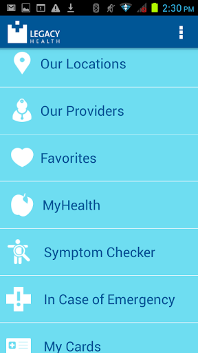 Legacy Health 1.0