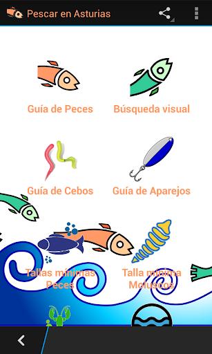 Pescar en Asturias