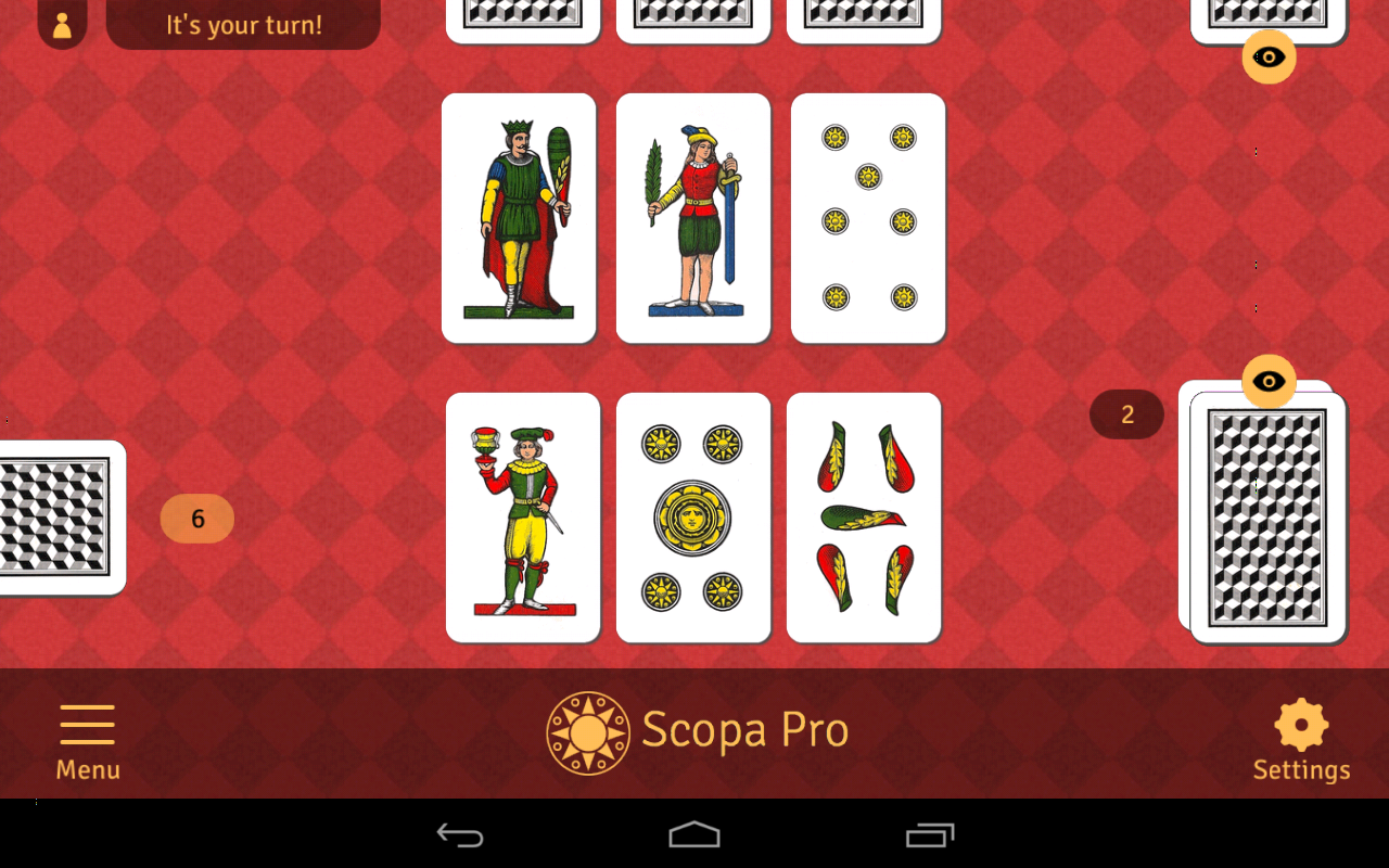 scopa card game online free