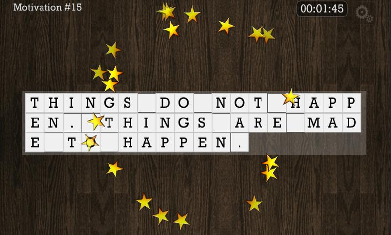WORD PUZZLE for the SOUL- screenshot
