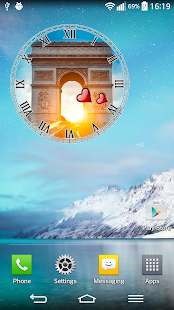 Paris Clock Widget screenshot