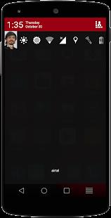 DarkOut CM12 / CM11 Theme - screenshot thumbnail