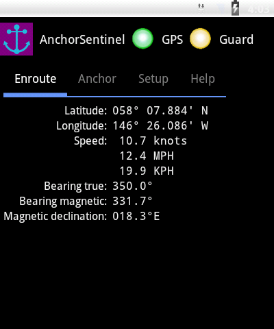 AnchorSentinel - screenshot