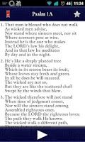 Screenshot of Psalms for Worship