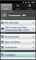 Screenshot of LIFE TIME FITNESS