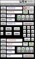 Screenshot of TC Financial Calculators