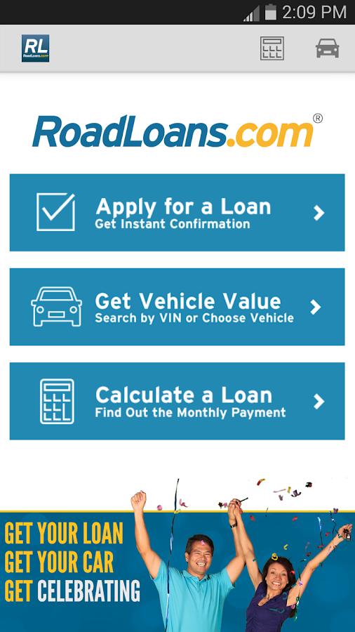 RoadLoans - Tools for Cars - screenshot