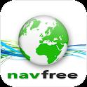 Navfree USA: Free Satnav logo