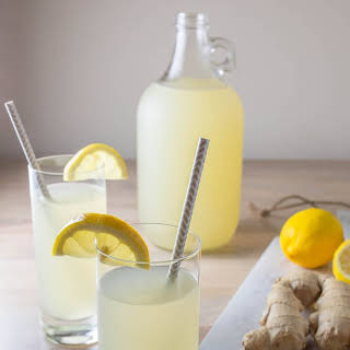 Spicy Ginger Lemonade.