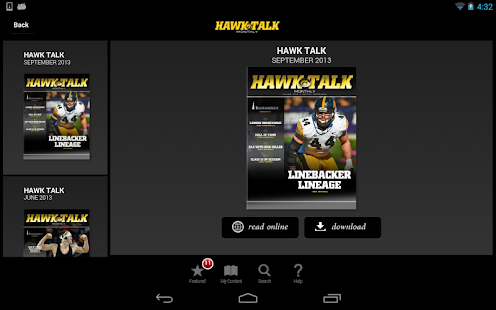 Hawk Talk Monthly - screenshot thumbnail