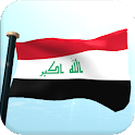 Iraq Flag 3D Free Wallpaper icon