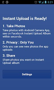 Photo Sync for Facebook- screenshot thumbnail