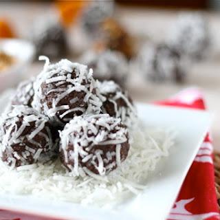 Cocoa-Nut Almond Energy Balls.