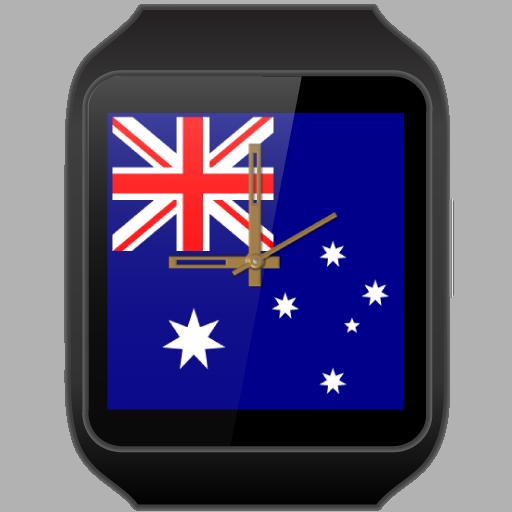 JJW Australia Day Watch Face