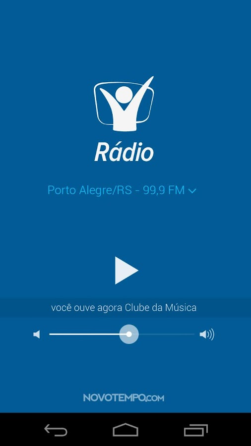 Radio Novo Tempo- screenshot