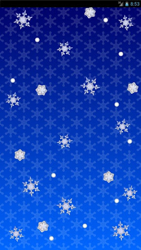 Snow×3 -Free Live wallpaper-
