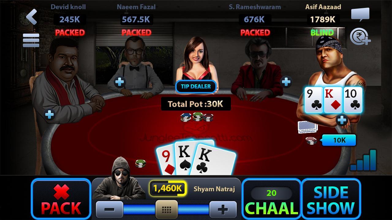 Translate poker in hindi