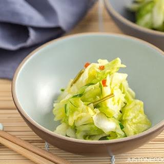 Tsukemono (Pickled Cabbage)