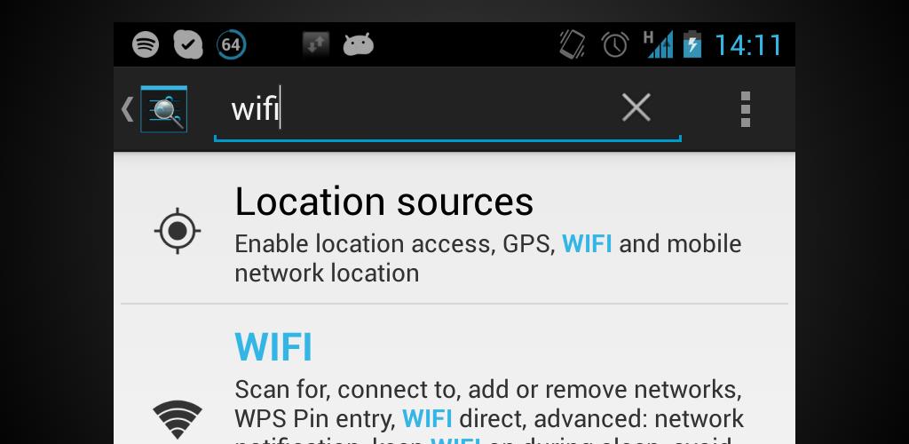Settings Search 1 0 Apk Download - com katzoft settings