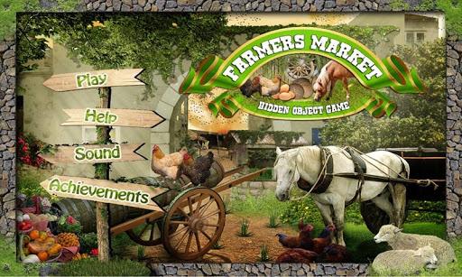 Farmers Market - Hidden Object