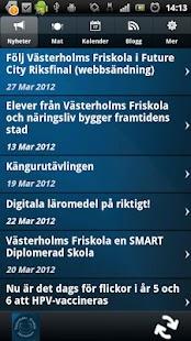 Västerholm skolan - screenshot thumbnail