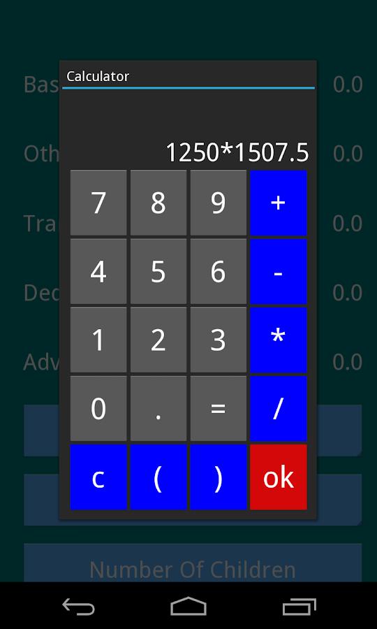 payroll weekly calculator