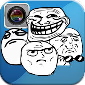 Rage Face Photo Editor