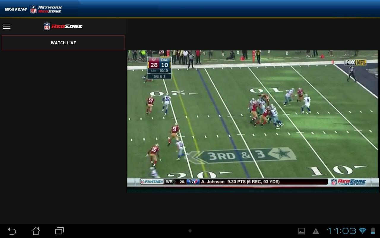 watch nfl network screenshot