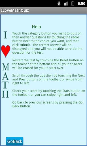 Download I Love Math Quiz Google Play softwares