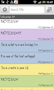 SE Notepad- screenshot thumbnail