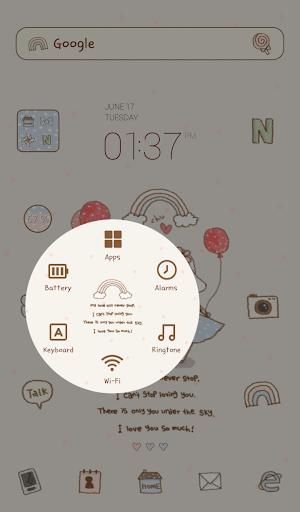 【免費個人化App】토토야(데이트) 도돌런처 테마-APP點子