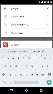 Google: miniatura de captura de pantalla