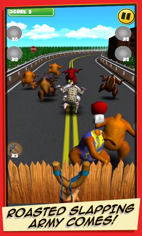 Attack of the Roasted Chickens - screenshot