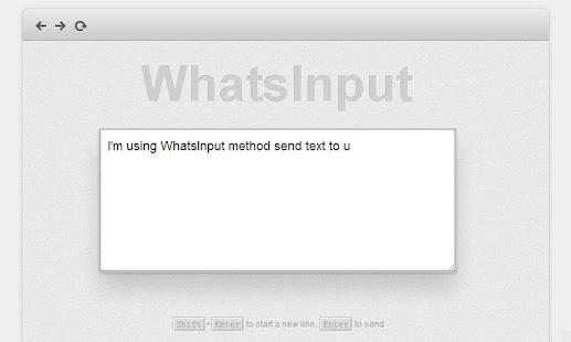 WhatsInput,WIFI 无线键盘