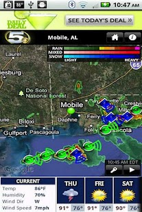 WKRG Radar - screenshot thumbnail