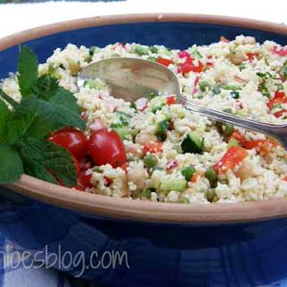 Couscous Salad- It's good for you!