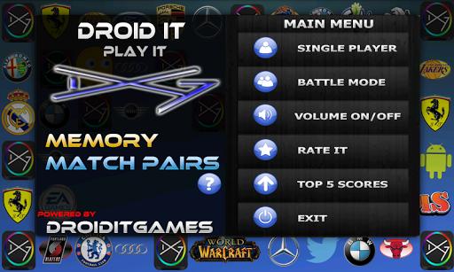 Memory Match Pairs