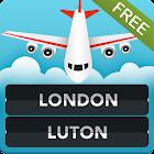 FLIGHTS Luton Airport icon