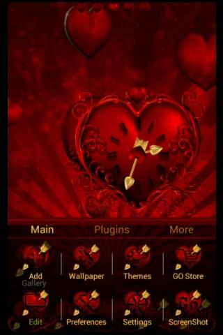 Hot Valentine Apex / Go Theme - screenshot