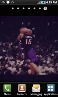 Vince Carter Live Wallpaper - screenshot thumbnail