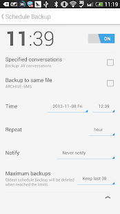 SMS Backup & Restore (Kitkat) - screenshot thumbnail