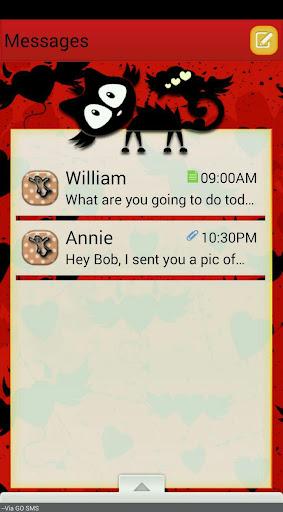 RedWitch GO SMS THEME