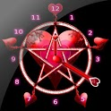 Pentacle Clock Widget icon