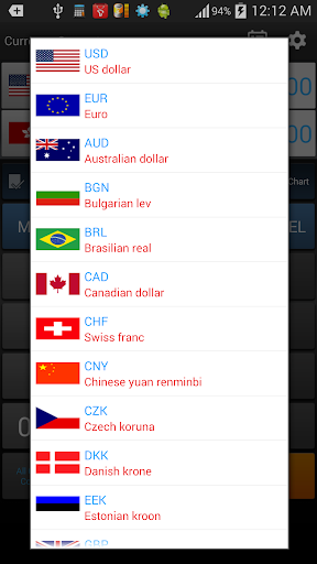 how to change currency on google play