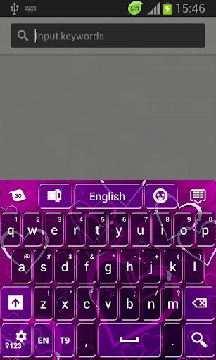 GO鍵盤紫心