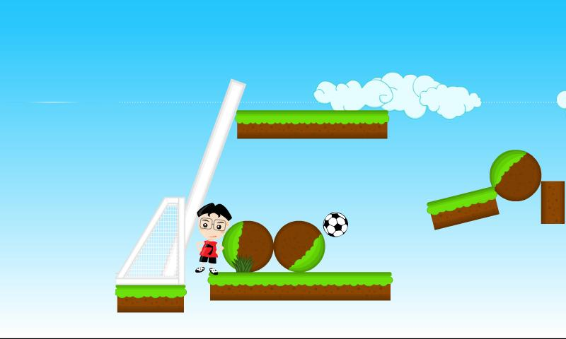 Rolling Football- screenshot