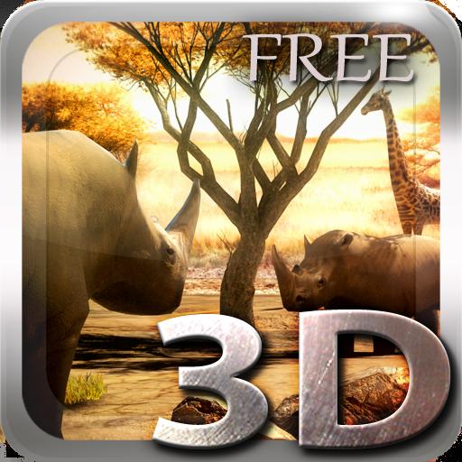 個人化App|Africa 3D Free Live Wallpaper LOGO-3C達人阿輝的APP
