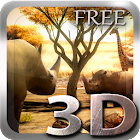 Africa 3D Free Live Wallpaper icon