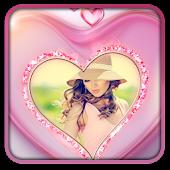 Pink Love Photo Frames